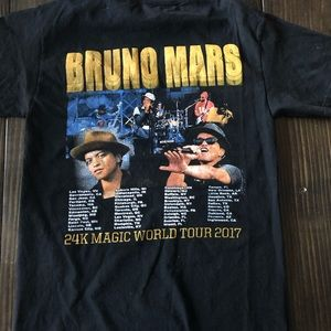 Other - ✅ Bruno Mars World Tour T-shirt